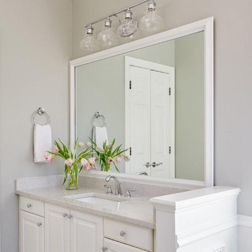Bathroom Mirrors Sydney Installation Custom Design Repair